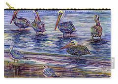 The Majestic Pelican Visit Carry-all Pouch