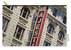 Carry-all Pouch featuring the photograph The Majestic Theater Dallas #2 by Robert ONeil