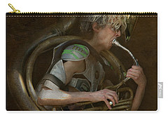 The Man - The Tuba Carry-all Pouch by Jeff Burgess