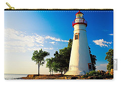 The Marblehead Light Carry-all Pouch by Nick Zelinsky