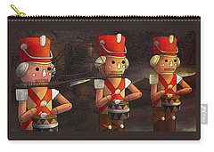 The March Of The Wooden Soldiers Carry-all Pouch