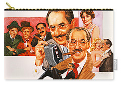 The Marx Brothers Carry-all Pouch
