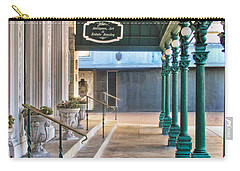 The Menger Hotel In San Antonio Carry-all Pouch by David and Carol Kelly