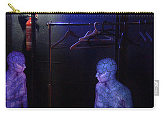 Carry-all Pouch featuring the digital art The Mermaids Dresser by Rosa Cobos