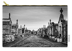 Carry-all Pouch featuring the photograph The Metairie Cemetery by Tim Stanley