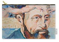 The Mind Of Michelangelo Carry-all Pouch by Michele Myers