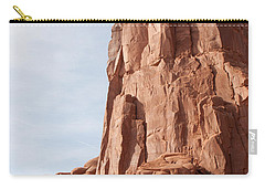 Carry-all Pouch featuring the photograph The Monolith by John M Bailey