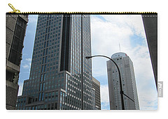 Carry-all Pouch featuring the photograph The Montreal Skyscraper by Shawn Dall