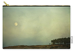 The Moon Above The Trees Carry-all Pouch