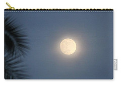 Carry-all Pouch featuring the photograph The Moon by Amy Gallagher