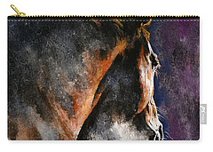 Cold Sunrise Carry-all Pouch by Laur Iduc