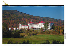 The Mount Washington Hotel In Autumn Carry-all Pouch