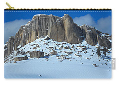 Carry-all Pouch featuring the photograph The Mountain Citadel by Michele Myers