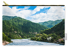 The Mountain Valley Of Rishikesh Carry-all Pouch