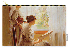 The Music Lesson, C.1890 Carry-all Pouch