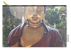 Carry-all Pouch featuring the photograph The Mystical Golden Buddha by Amy Gallagher