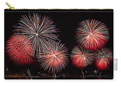The New York City Skyline All Lit Up Carry-all Pouch