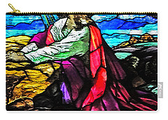 The Night Before The Cross Carry-all Pouch by Lydia Holly