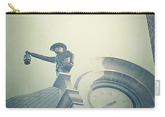Carry-all Pouch featuring the photograph The Night Watchman by Trish Mistric