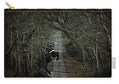 Carry-all Pouch featuring the digital art The Nightmare by Davandra Cribbie