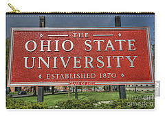 The Ohio State University Carry-all Pouch by David Bearden