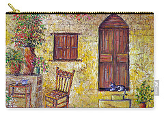 The Old Chair Carry-all Pouch by Lou Ann Bagnall