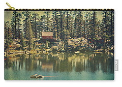 The Old Days By The Lake Carry-all Pouch by Laurie Search