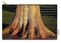 The Old English Oak Tree Carry-all Pouch