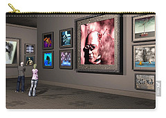 Carry-all Pouch featuring the digital art The Old Museum by John Alexander