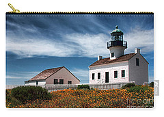 The Old Point Loma Lighthouse By Diana Sainz Carry-all Pouch