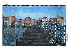 The Old Queen Emma Bridge In Curacao Carry-all Pouch