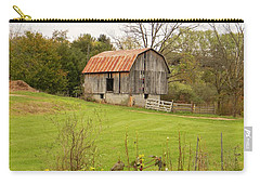 The Old Shed Carry-all Pouch by Jean Goodwin Brooks