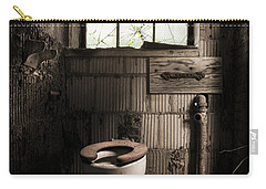 The Old Thinking Room - Abandoned Restroom And Toilet Carry-all Pouch