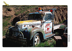 The Old Truck Carry-all Pouch by Dany Lison
