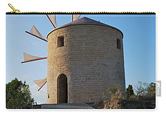 The Old Windmill 1830 Carry-all Pouch by George Katechis