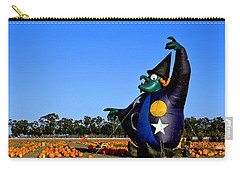 Carry-all Pouch featuring the photograph The Old Witch by Michael Gordon