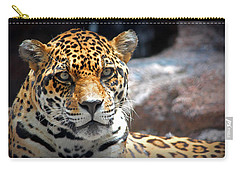 Carry-all Pouch featuring the photograph The Ole Leopard Don't Change His Spots by Lynn Sprowl