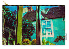 Carry-all Pouch featuring the photograph The Open Window by Chris Lord