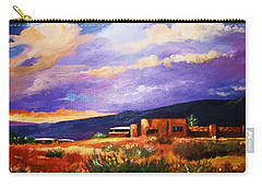 The Orange Glow Of Sunset Carry-all Pouch