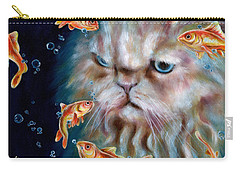 Carry-all Pouch featuring the painting The Other Side Of Midnight by Hiroko Sakai