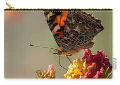 The Painted Lady Carry-all Pouch