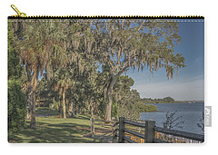 Carry-all Pouch featuring the photograph The Park by Jane Luxton