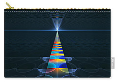 Carry-all Pouch featuring the digital art The Path Ahead by GJ Blackman