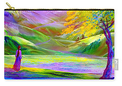 Misty Mountains, Fall Color And Aspens Carry-all Pouch