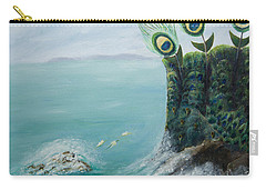 The Peacock Cliffs Carry-all Pouch