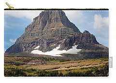 Carry-all Pouch featuring the photograph The Peak At Logans Pass by John M Bailey
