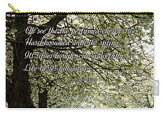 The Perfumed Cherry Tree 1 Carry-all Pouch