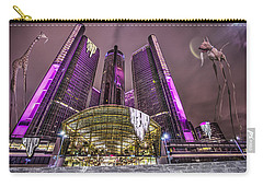 Carry-all Pouch featuring the photograph The Persistence Of Time by Nicholas  Grunas