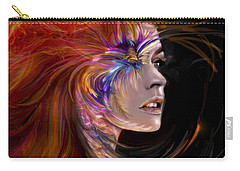 The Phoenix  Fire Flames And Rebirth Carry-all Pouch