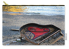 The Piano In New York Harbor Carry-all Pouch